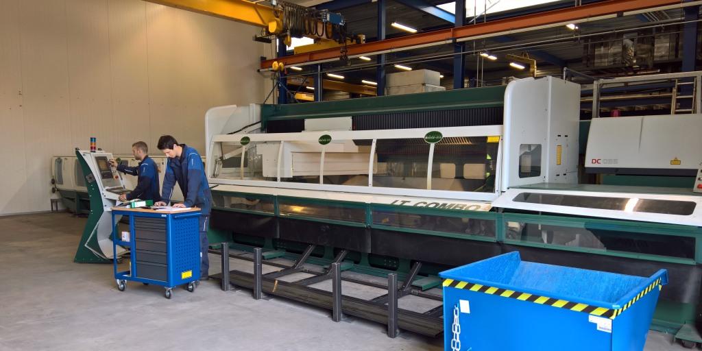 Metaalbewerking-Lasersnijmachine